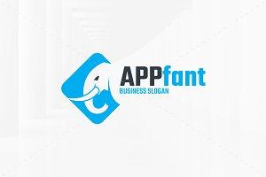 APP-Fant - Elephant Logo