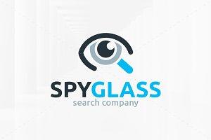 Spy Glass Logo Template