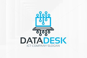 Data Desk Logo Template