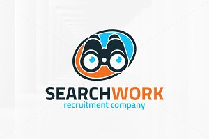 Search Work Logo Template