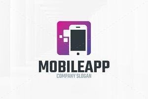 Mobile App Logo Template