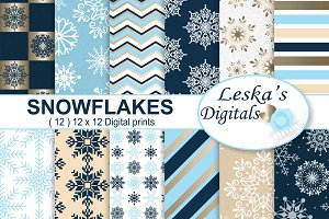 Snowflake Digital Patterns