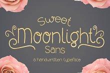 Sweet Moonlight- Handwritten Font