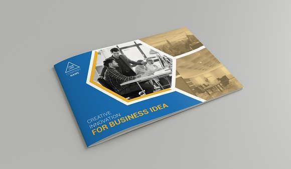 A Company Profile Brochure Templates Creative Market - A5 brochure template