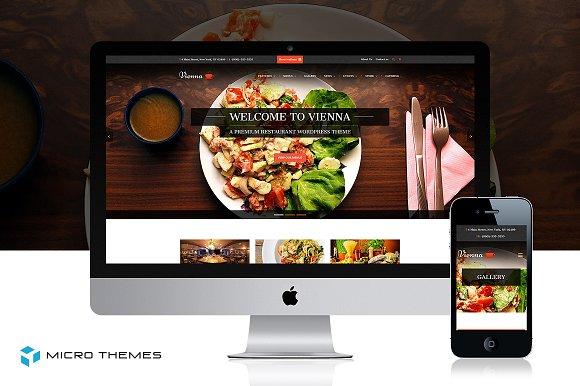 Vienna - Restaurant Business WordPress Theme