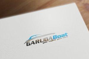 Garuda Boat Logo Template