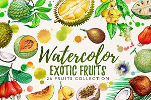 watercolor fruits vol. 6