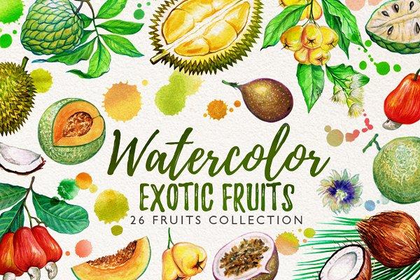 watercolor fruits vol. 6