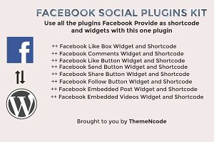 Facebook Social Plugins Kit for WP