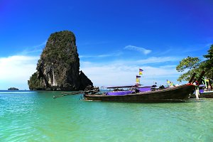 Sea of krabi thailand