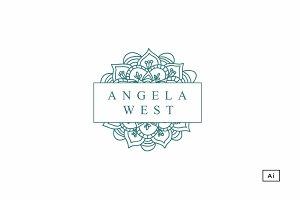 Floral Mandala Logo Template