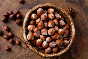 Hazelnuts!