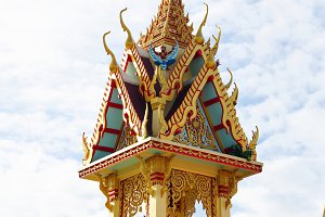 Thai temple art