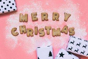 Christmas made of cookies
