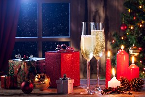 celebrate and new year