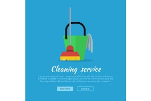 Cleaning Web Banner