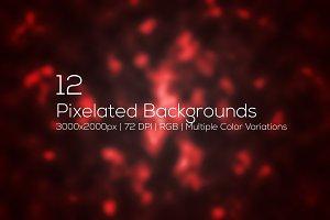 Pixelated Backgrounds