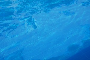 texture of clear blue water