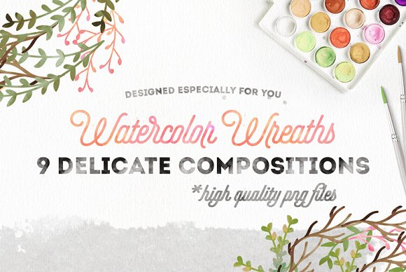 Watercolor collection Vol. I - Illustrations