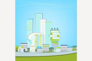 Eco Cityscape