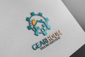 Gear House  Logo