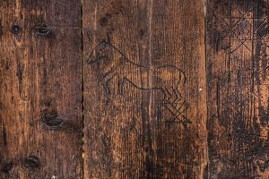 Vintage Wood Background Texture 5