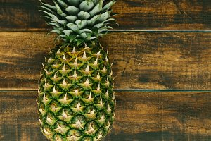 Green pineapple