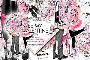 Valentines Romantic Clipart