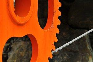 Orange Wheel 2