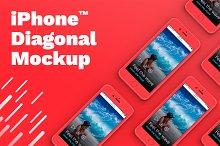 iPhone™ Diagonal Mockup