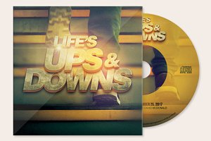 Life's Ups and Downs CD Artwork