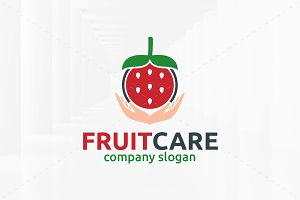 Fruit Care Logo Template