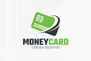 Money Card Logo Template
