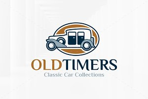 Old Timers Logo Template