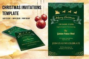 Christmas Invitation Flyer-V424