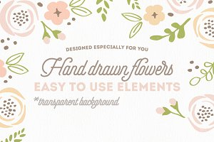 Hand Drawn DIY bouquets Vol. I