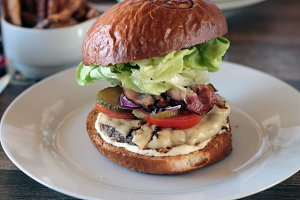 Great and amazing hamburger