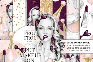 Makeup Girl Paper Pack