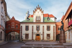 Czartoryski Museum and Library in Krakow, Poland
