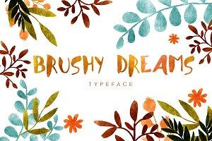Hello Brushy Dreams Font