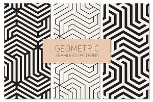 Geometric Seamless Patterns Set 15