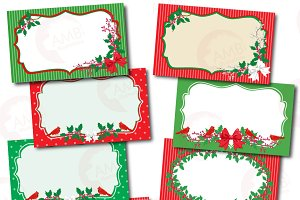 Christmas Frames and Tags, 1500