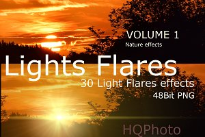 Light Flare Effects Volume 1