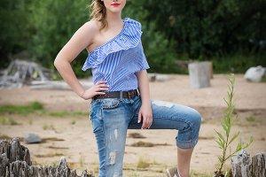 Pretty woman model
