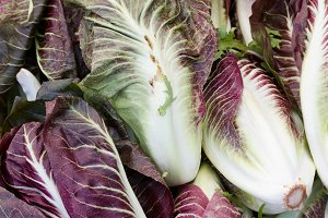 Radicchio on display