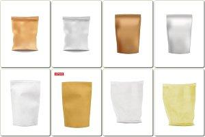 Photorealistic Vector Blank Foils