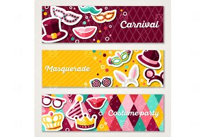 Carnival banners