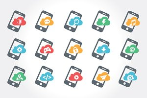 Mobile Feature Icon Set ver 2