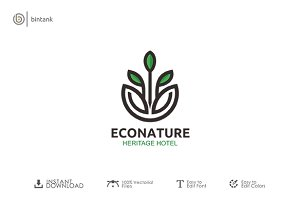 Eco Nature Logo