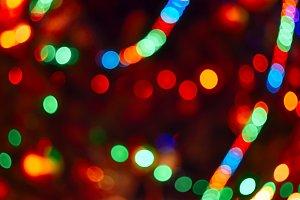Soft focus Christmas Tree Lights
